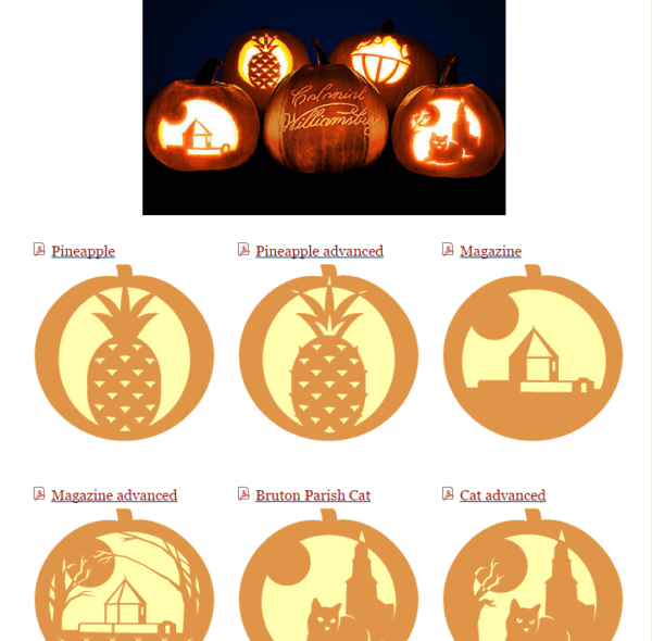 FREE Printable Pumpkin Stencils + Halloween Templates #pumpkintemplates #pumpkinstencils #pumpkincarving #halloween