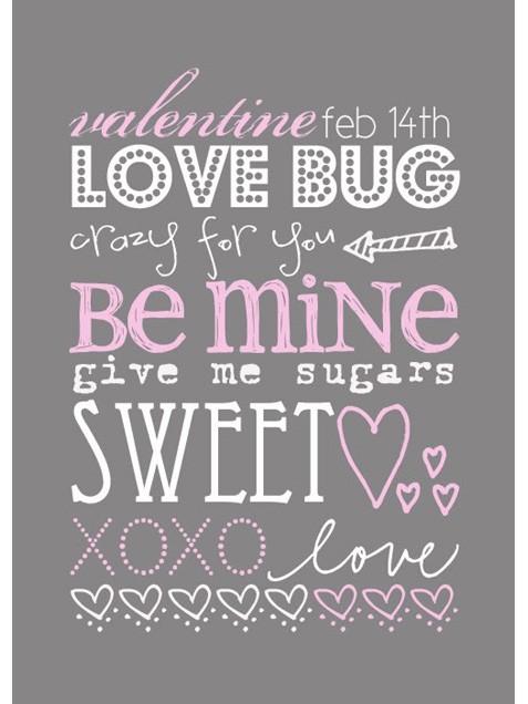 Language of Love Free Valentine's Day Printables savingmorethanme.com