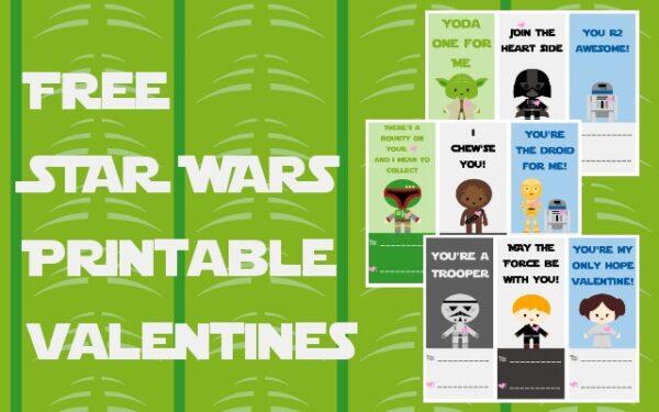 Free Valentine's Day Printables savingmorethanme.com