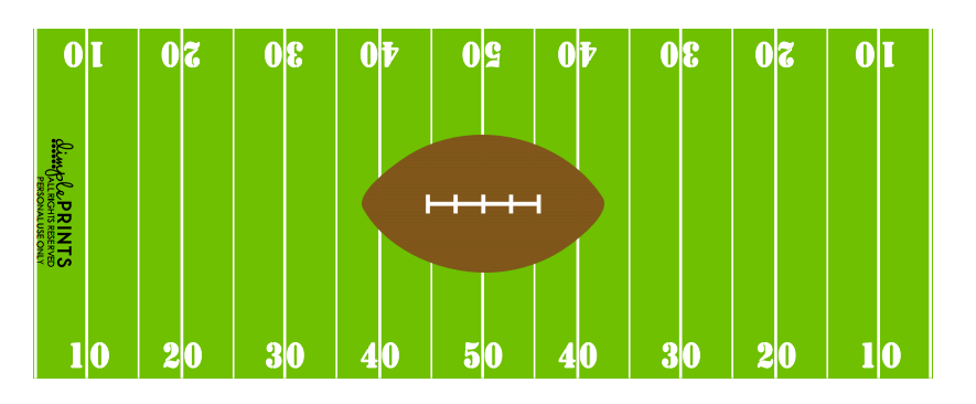 Free Football Themed Printables For Children {and Adults} #superbowl savingmorethanme.com free football printables--dimple prints party printables