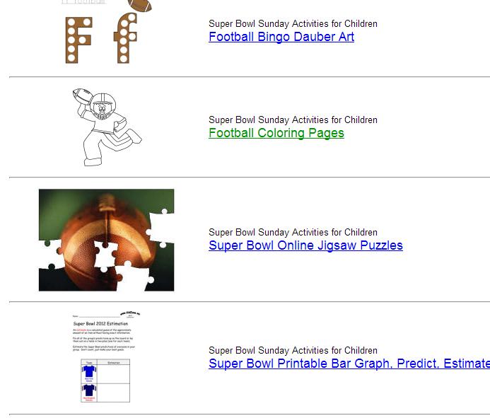 free football themed printables dltk kids. Black Bedroom Furniture Sets. Home Design Ideas