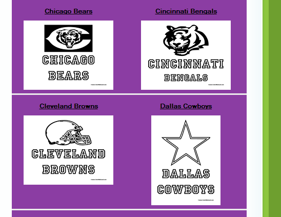 Free Football Themed Printables For Children {and Adults} #superbowl savingmorethanme.com