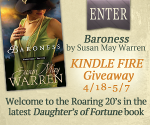 {Book Review} #Baroness Roaring 20s Kindle Fire Giveaway {OVER} from @SusanMayWarren!