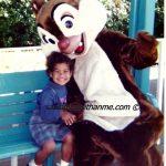 {Wordless Wednesday} @WaltDisneyWorld Visit In 1994 {My Daughter Adored This Chipmunk}