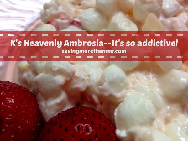 Heavenly Ambrosia #recipes