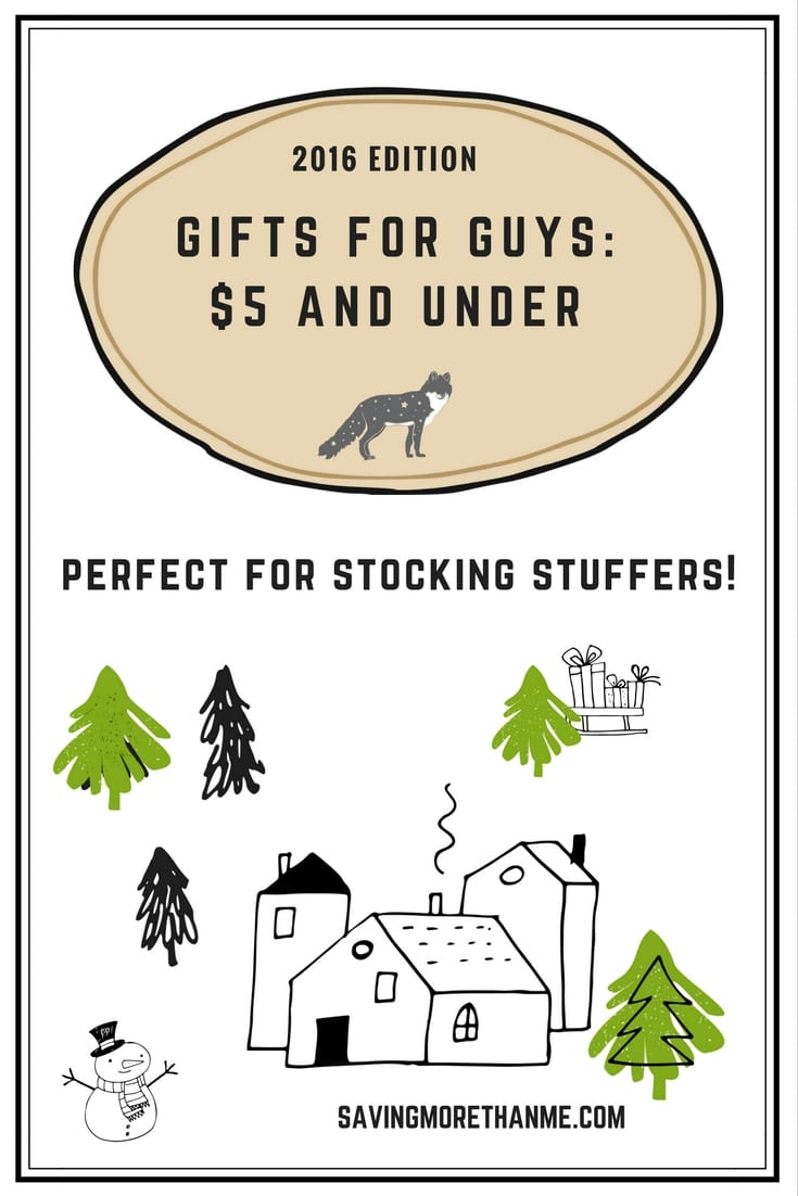 Stocking Stuffers and Gifts For Guys: All Under $5 #deals