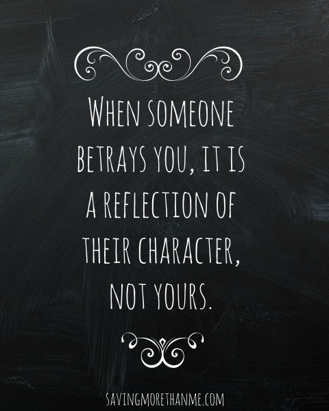 Brief Thoughts On Friendship and Betrayal {with Free Printables} savingmorethanme.com
