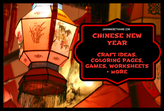 Chinese New Year Find Craft Ideas Coloring Pages Games Worksheets And More