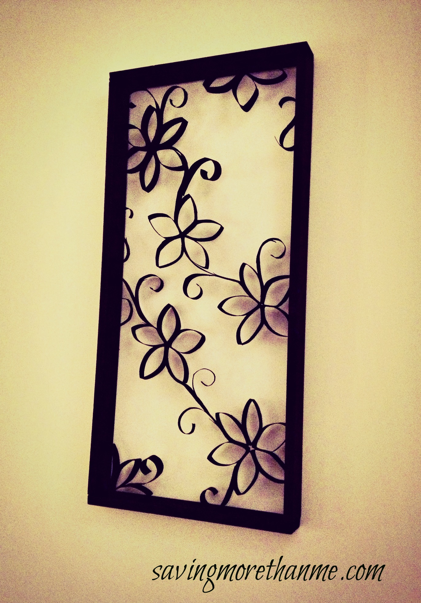 DIY Wall Decor made from... (You\'ll Never Guess!)