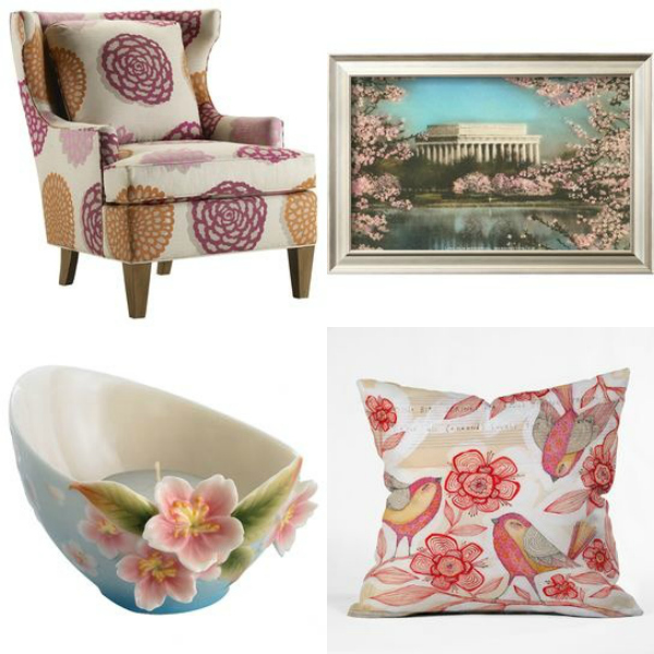 Fill Your Home with Cherry Blossom Inspired Decor