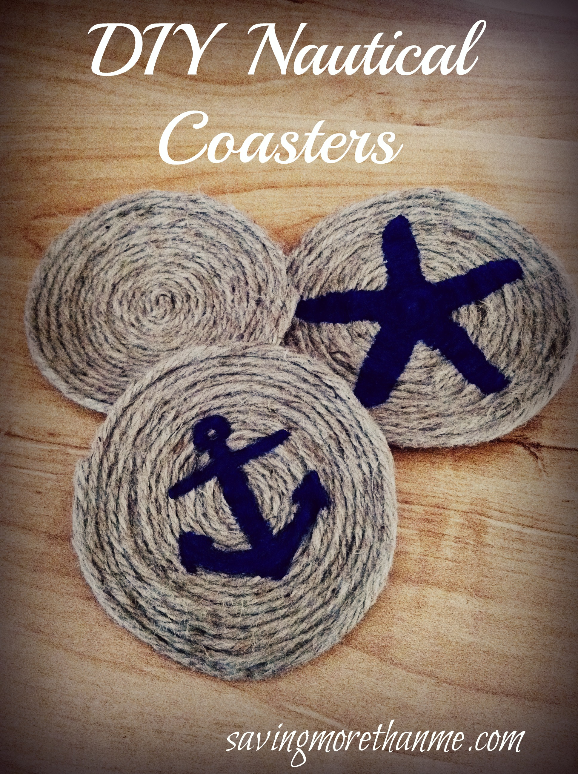 Nautical crafts to make - Diy Nautical Themed Coasters Crafts Diy