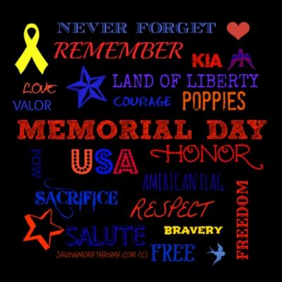 BLACK MEMORIAL DAY SUBWAY PRINTABLE