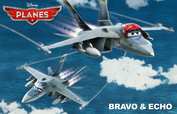 brava and echo from Disney's Planes