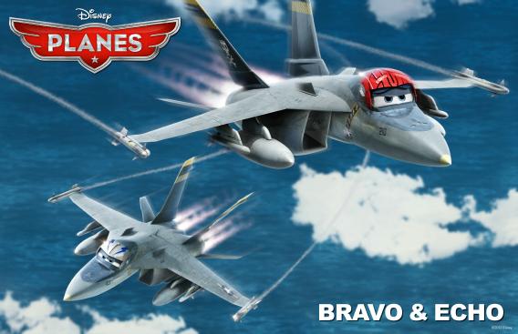 brava and echo from Disney's Planes