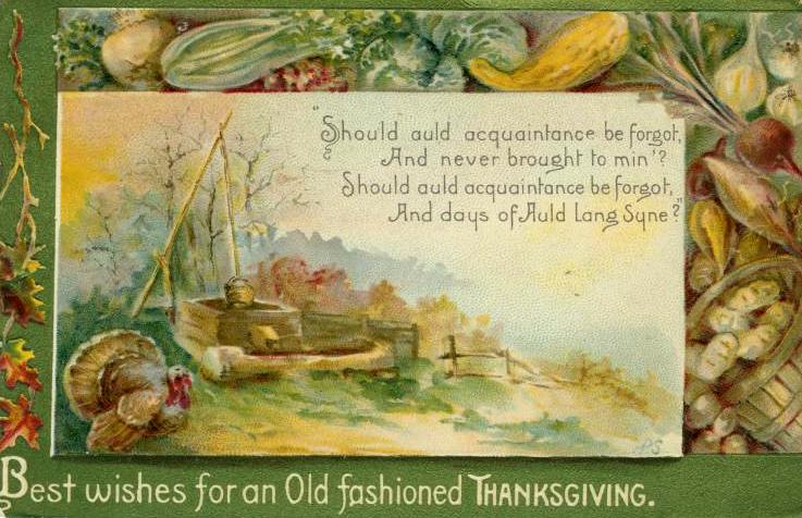 vintage thanksgiving cards