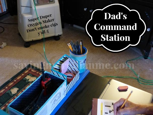 Dads Command Station DIY Organizer savingmorethanme