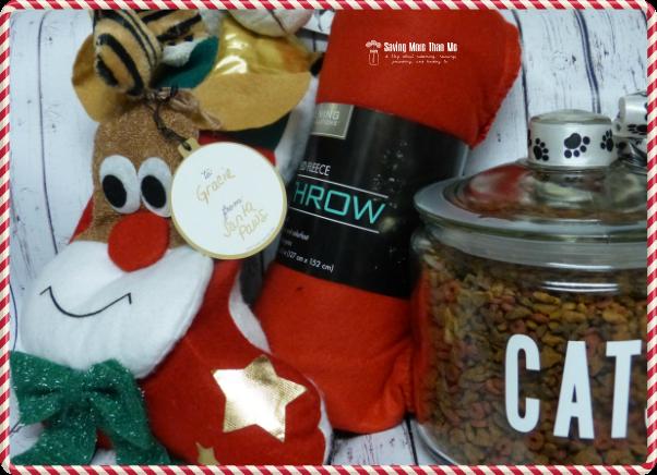 Gracie gets a visit from Santa Paws #HappyAllTheWay #shop #cbias