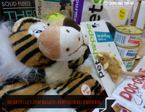 Holiday Pet Gifts From Walgreens #HappyAllTheWay #shop #cbias