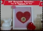 DIY Keepsake Valentine + Free Printables