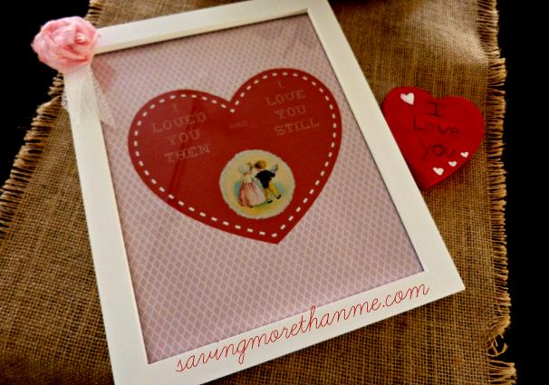 DIY Valentine's Keepsake savingmorethanme.com
