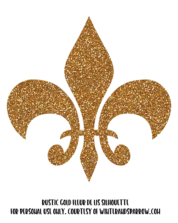 The History Of Fleur De Lis 8 Free Fleur De Lis Silhouette Clipart