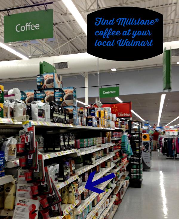 Find Millstone coffee at your local walmart #coffeejourneys #shop #cbias savingmorethanme.com