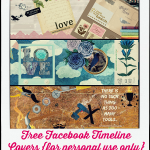 Free Facebook Covers–Dreamy Blue, Pink Travel, and Men's Tools