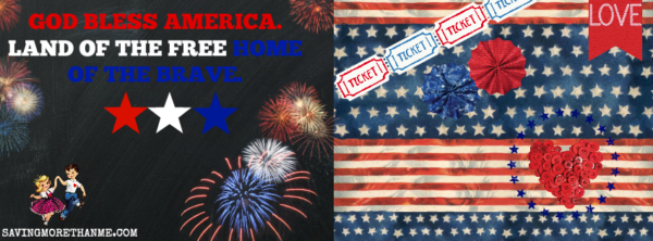 God Bless America Facebook Cover {Free} savingmorethanme.com