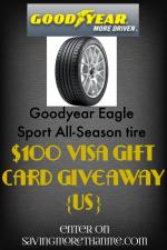 Meet Goodyear's Eagle Sport All Season Tires #ad