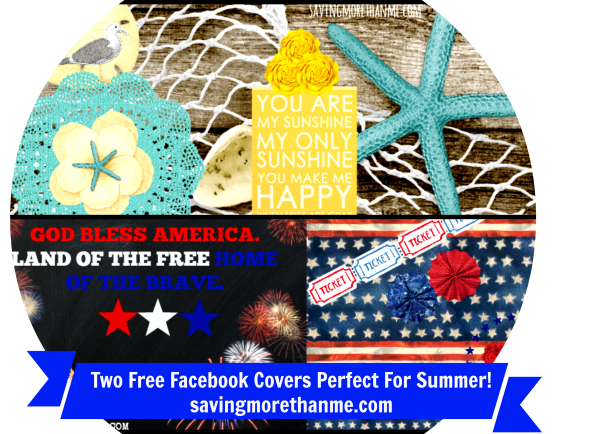 Two Free Facebook Covers Perfect For Summer--savingmorethanme.com