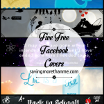 Five Free Facebook Covers: Back To School, Jacques Cousteau, Ball Jar, Space + Silhouette