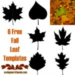 6 Free Fall Leaf Templates #FallInVA