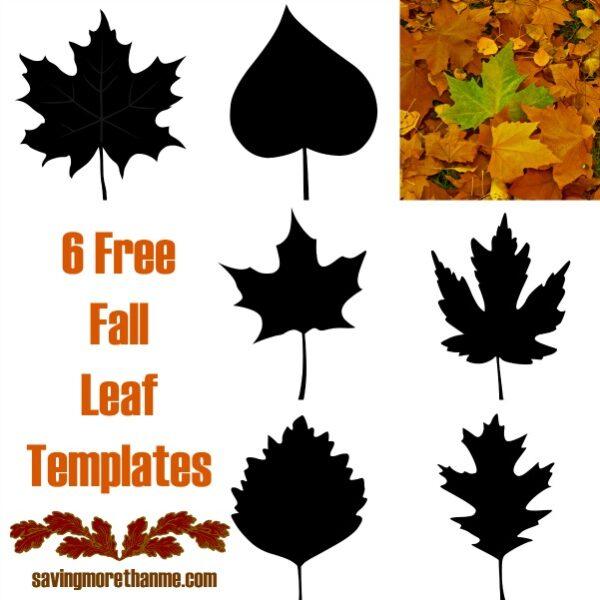 6 free fall leaf templates winterandsparrow.com #FallInVA
