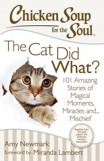 Chicken Soup for the Soul--The Cat Did What? Book Review + Giveaway {3 winners-US} #ad savingmorethanme.com