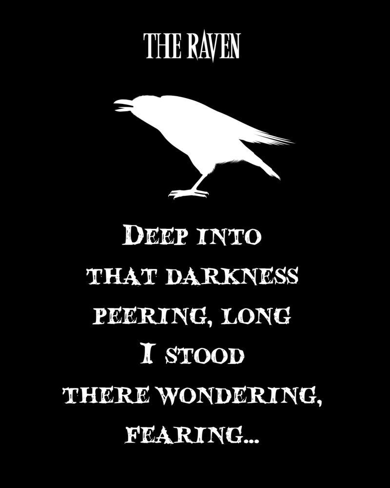 the raven printable