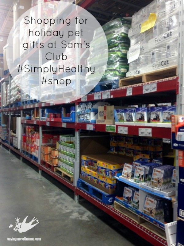 Check Out The Pet Gifts I Found At Sam's Club {Plus, A DIY Flannel Pet Bed} #SimplyHealthy #ad savingmorethanme.com