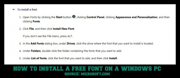 install a font on windows--15 Free Christmas Fonts + How To Install Fonts On A Windows PC  savingmorethanme.com