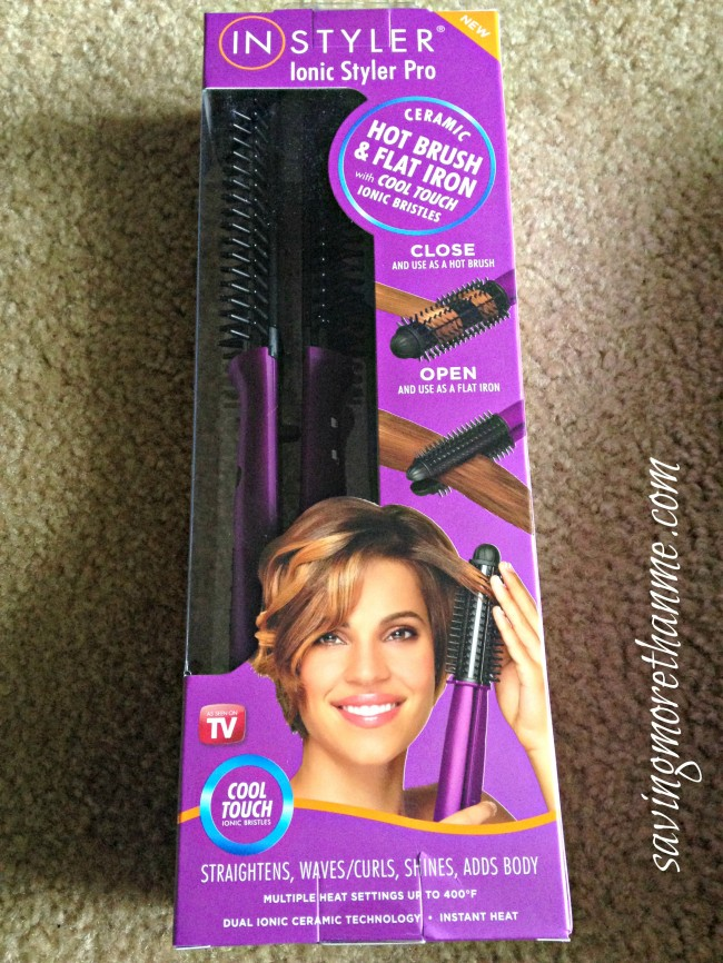 See How The InStyler Transformed My Hair {Bye, bye frizz!} Plus A 30% Off Promo Code #RSVPInStyler #gotitfree @vocalpoint savingmorethanme.com