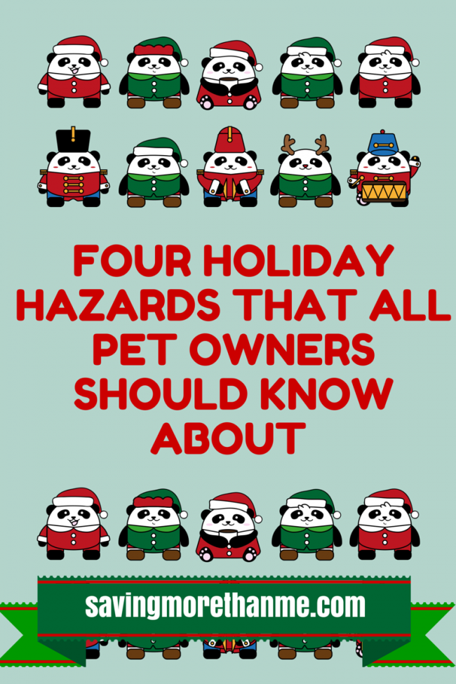 Four Holiday Hazards That All Pet Owners Should Know About savingmorethanme.com