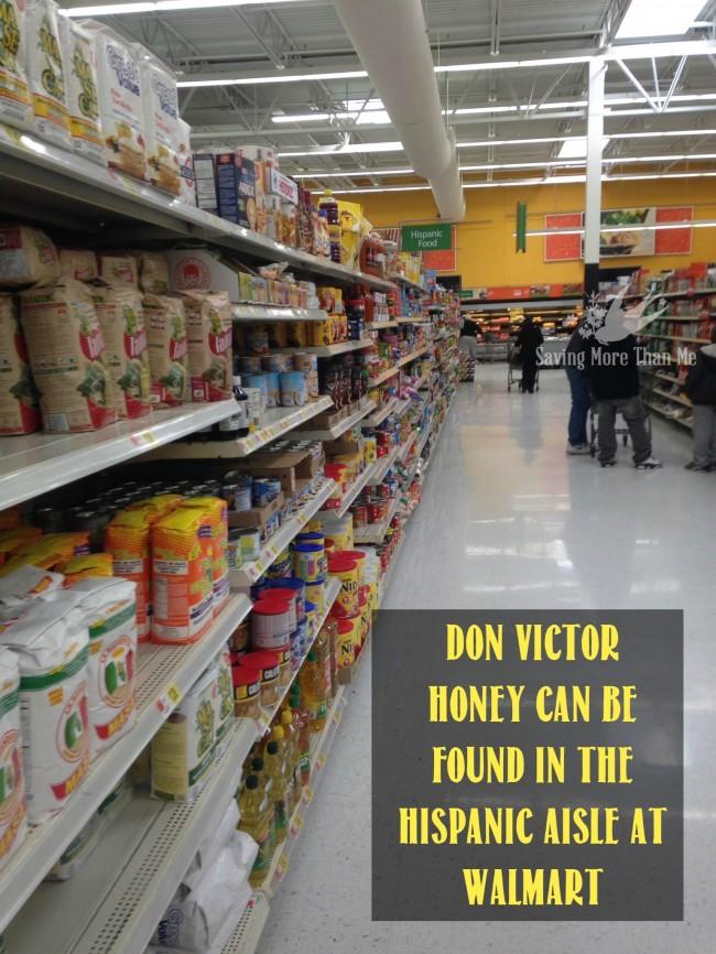 hispanic aisle walmart Make A Winter Survival Gift Basket With Honey, Tea, and Me #HoneyForHolidays #DonVictor #Ad savingmorethanme.com