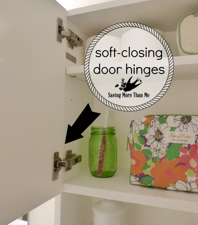 The Lola Cabinet From DecoLav Solves My Storage Problem + Giveaway {You Could Win One ARV $757} {US} #ad savingmorethanme.com