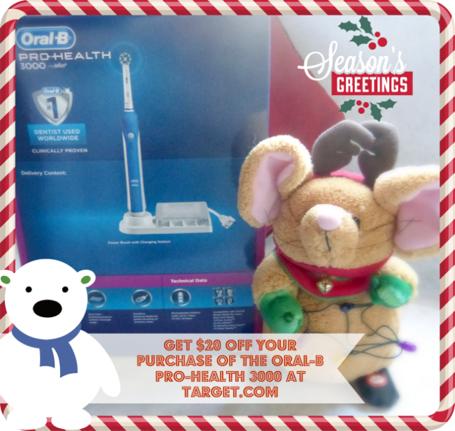 The Gift That Gives Bright and Healthy All Year #OralB3000 #CleverGirls #ad @OralB