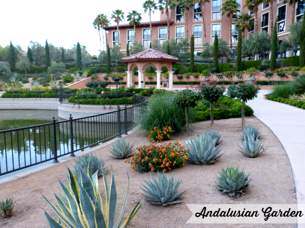 Andalusian Garden-Lake Las Vegas savingmorethanme.com Blog Conferences Aren't Just About Blogging #blogpaws #sponsored {Bonus: Scenes from Lake Las Vegas @WestinLakeLV} savingmorethanme.com