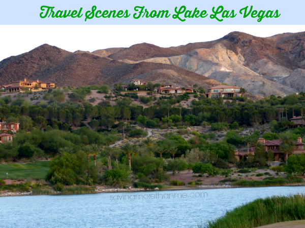 Travel scenes from lake las vegas #travel #vegas savingmorethanme.com