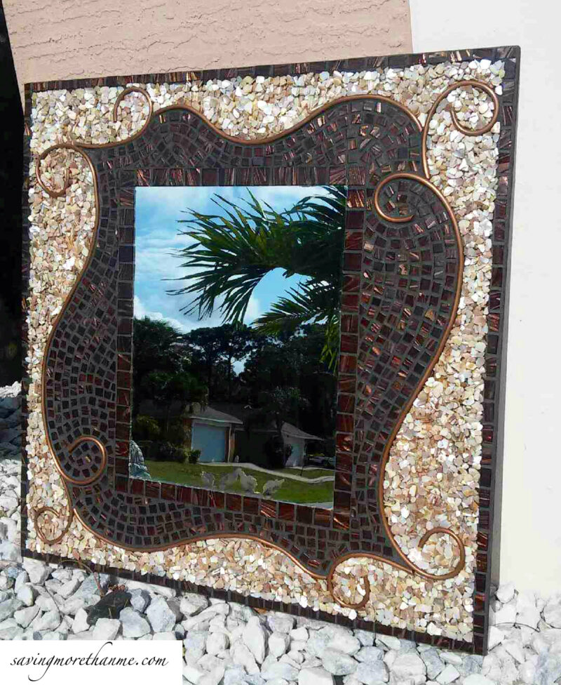 DIY Mosaic Decorative Mirror