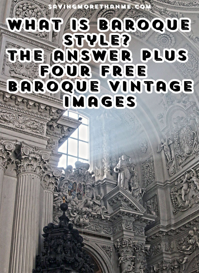 what is baroque style the answer four free vintage