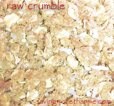 Mixed Berry Crumble #recipes savingmorethanme.com