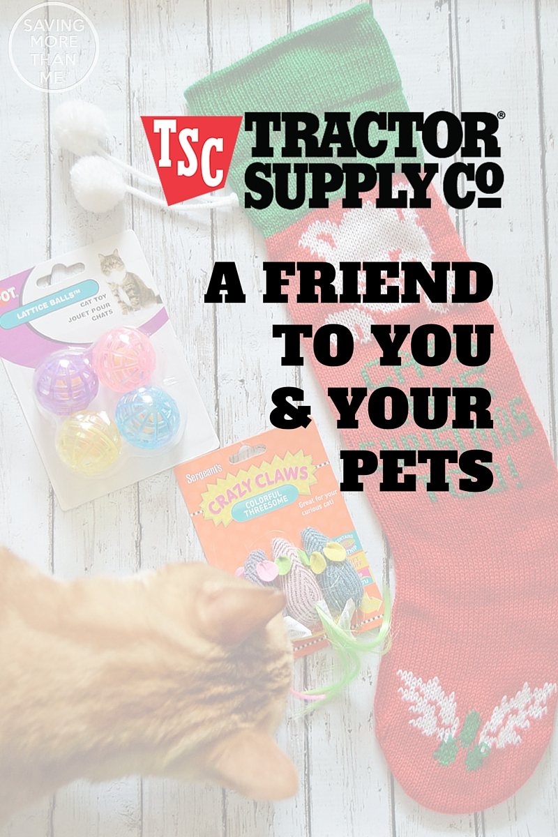 Tractor Supply Company: A Friend To You + Your Pets @tractorsupply