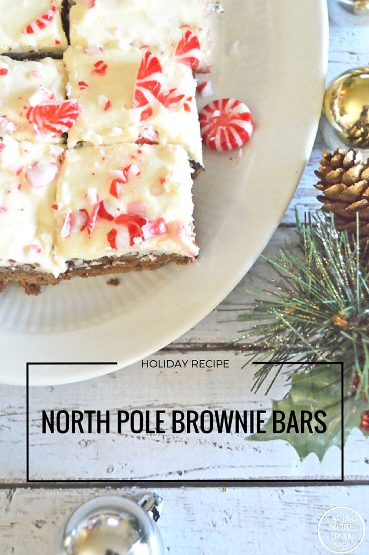 North Pole Brownie Bars