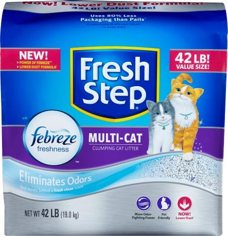 Cat Parents: 5 Ways To Manage Litter Box Odors #FreshStepFebreze